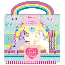 Designer Unicorn Creativity boek