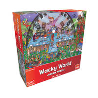 Wacky World puzzel popconcert