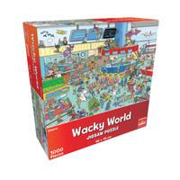 Wacky World puzzel airport
