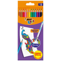 BIC Kids Evolution Illusion wisbare kleurpotloden set 12-delig