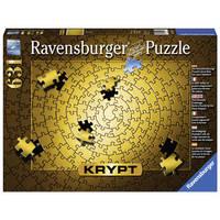 Ravensburger puzzel Krypt goud - 631 stukjes