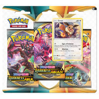Pokémon TCG Sword & Shield Eevee 3 booster
