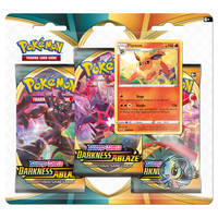 Pokémon TCG Sword & Shield Flareon 3 booster
