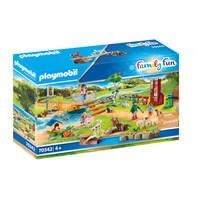 PLAYMOBIL Family Fun grote kinderboerderij 70342