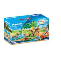 PLAYMOBIL Family Fun rode panda's in het buitenverblijf 70344