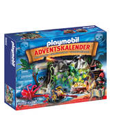 PLAYMOBIL adventskalender schattenjacht in de piraten-inham 70322