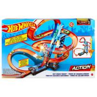 Hot Wheels Action speelset wolkenkrabber crash