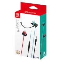 Nintendo Switch Hori gaming earbuds pro - neon blauw/rood
