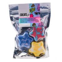 Create It! bruisballen ster set 3-delig