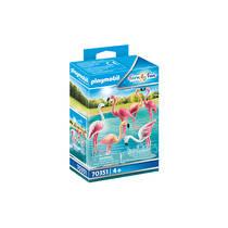 PLAYMOBIL Family Fun zwerm flamingo's 70351