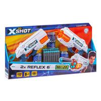 Zuru X-Shot Excel Reflex 6 blaster double pack