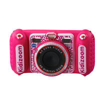 VTech KidiZoom Duo DX camera - roze