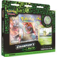 Pokémon TCG pin box Champion's Patch Turffield Gym