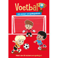 Sticker- en spelletjesboek voetbal