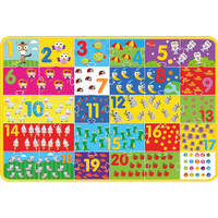 GIANT NUMBER ACTIVITY PUZZLE