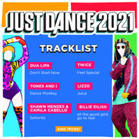 XBX JUST DANCE 2021