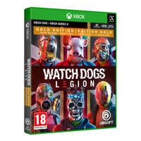 Xbox Series X & Xbox One Watch Dogs Legion Gold Edition