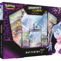 Pokémon TCG Champion's Path Hatterene V box