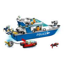 LEGO CITY 60277 POLITIE PATROUILLEBOOT
