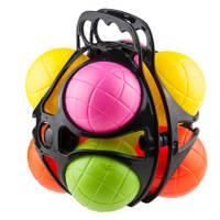 Jeu de boules set met 8 kunststof ballen