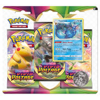Pokémon TCG Sword & Shield Vivid Voltage booster blister Vaporeon