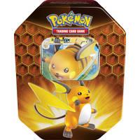Pokémon TCG Hidden Fates Fall box Raichu GX