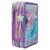 Fantasy Model Ice Friends 3-vaks etui met LED functie