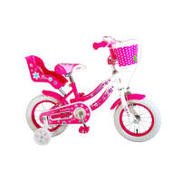 Volare Lovely kinderfiets - 12 inch - roze/wit