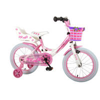 Volare Rose kinderfiets - 16 inch - roze/wit