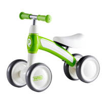 QPlay Cutey Ride loopfiets - 10 inch - groen