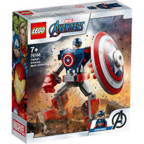 LEGO Marvel Super Heroes Captain America mechapantser 76168