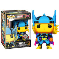 Funko Pop! figuur Black Light Thor Special Edition