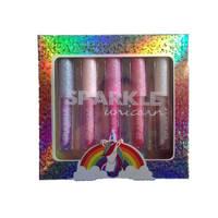 Sparkle Unicorn lipgloss set van 5