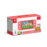 Nintendo Switch Lite roze + Animal Crossing: New Horizons + 3 maanden gratis Nintendo Switch online lidmaatschap