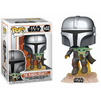 Funko Pop! figuur Star Wars The Mandalorian with The Child