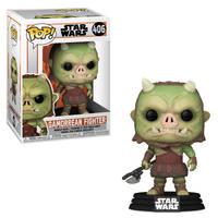 Funko Pop! figuur Star Wars The Mandalorian Gamorrean Fighter