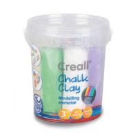 Creall stoepkrijt klei set - 750 gram