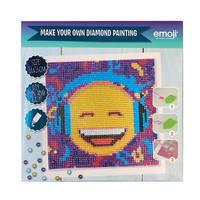 Emoji Diamant Painting set koptelefoon