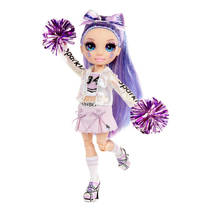 Rainbow High Cheer modepop Violet Willow