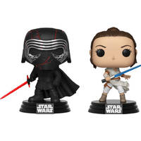POP! SW: KYLO AND REY 2-PACK LE