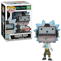 Funko Pop! figuur Rick and Morty Gamer Rick Special Edition
