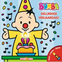 Bumba verjaardagsboek met kaars en muziek