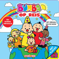 Bumba kartonboek met flapjes op reis