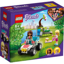 LEGO Friends dierenkliniek reddingsbuggy 41442