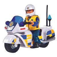 Brandweerman Sam politiemotor + figuur
