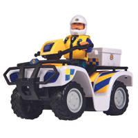 Brandweerman Sam politiequad + figuur