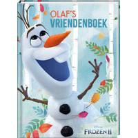 Disney Frozen 2 vriendenboek Olaf