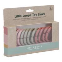 Little Dutch Little Loops speelgoedringen - roze