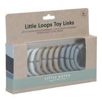 Little Dutch Little Loops speelgoedringen - blauw