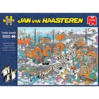 Jumbo Jan van Haasteren puzzel Zuidpool expeditie - 1000 stukjes